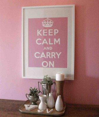 KeepCalm&CarryOnPoster