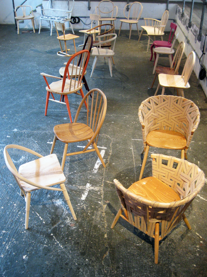 Milan hand made chairs