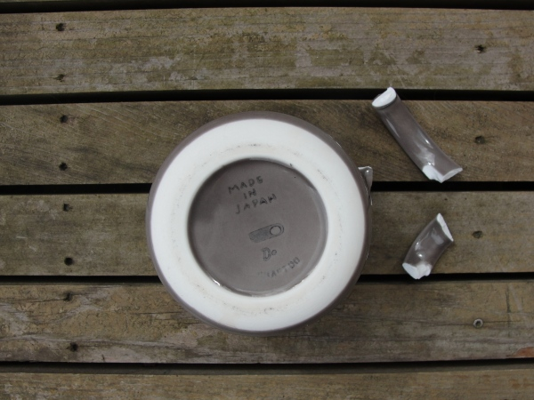 Japanese ceramics | Broken crockery counselling